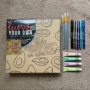 Create Your Own Art Kit - Avocado